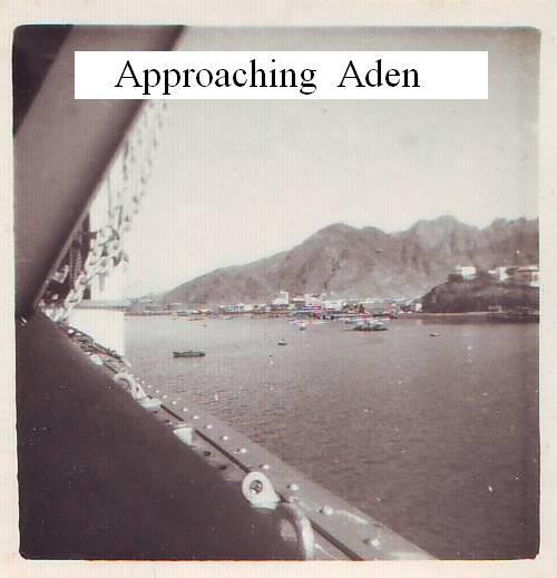 Approaching Aden